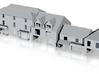 N Scale Topsham Fore Street buildings 1:148 3d printed