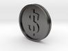€/$ Coin - Euro Dollar Coin 3d printed