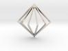 3D Fanned Diamond 3d printed