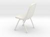 1-12.Plastic Scoop Chair  3d printed