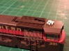 Locomotive 3 Chime Horns Type 3-1 & 3-2 N Scale 3d printed Type 1 Comparison On U50