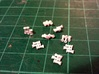 Locomotive 3 Chime Horns Type 3-1 & 3-2 N Scale 3d printed Horns Type 1 & Type 2