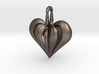 Heart Pendant Simple Elegance Small 3d printed
