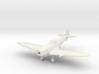 1/144 Spitfire F Mk XIVE low back 3d printed