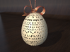 Classical Easter Egg  3d printed A rendering of the white strong and flexible