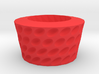 Ovals pattern bowl 3d printed