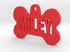 Bone Pet ID Tag - Miley 3d printed