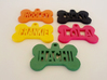 Bone Pet ID Tag - Lola 3d printed With Multiple Color
