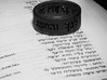 Psalms 37:4 Ring (Size 12) 3d printed Size 10 Render