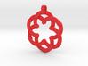 Expandable Mandala Pendant/Keychain 3d printed