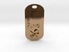 Geek King Keychain 3d printed