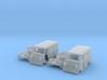 SET 2x Goggomobil Transporter (N 1:160) 3d printed