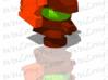 Cyberverse Roadbuster head 3d printed