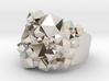 Geode Ring 3d printed