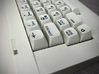 Keyboard Mounts for C64C case (universal) 3d printed Fully mounted with closed case