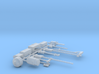 1/87th HO Scale Logging Tools Set 3d printed