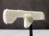 Missile Cruiser Multi-Part Kit 3d printed Printed Frosted Ultra Detail after cleaning bath