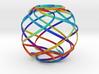 Ribbon Sphere Large 3d printed