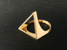 Triangle Ring - Sz5 3d printed