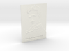 Nikola Tesla Shadowgram 3d printed