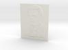 Alan Turing Shadowgram 3d printed