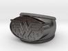 Wonder Woman Ring  3d printed