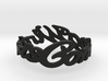 winter-is-coming-final Ring Size 7 3d printed