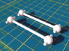HO Roundhouse Shay 360 Replacment Long Drive Shaft 3d printed