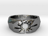 Neotokyo ring: size 12 (US) Y (UK) 3d printed
