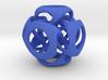 Tangled Cube Pendant 3d printed