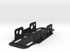 UNDERSLUNG BATTERY TRAY (1 inch Velcro Strap Versi 3d printed