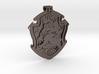 Hufflepuff House Crest - Pendant LARGE 3d printed