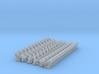 (1:285) CIWS+RAM+Harpoon (x12)(x2) 3d printed