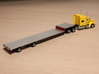 1:160 N Scale 53' Fontaine Infinity Drop Deck 3d printed