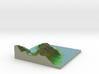 Terrafab generated model Sun Apr 12 2015 08:47:49  3d printed