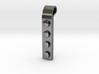 Brick Pendant (Precious Metal version) 3d printed