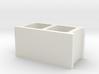 1:12 Scale Cinder Block 3d printed