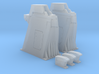 1/144 - Holddown Arms LC-34 (2x closed doors) 3d printed