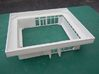 Amtrak 50C Depot 3d printed Printed model cleaned and a coat of primer