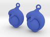 Dolphin Earrings 3d printed