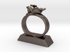 Lily Napkin Ring 3d printed