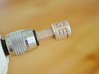 """Coffee Grinder Bit For Drill Driver CDP-L 3d printed Set image (Quick-change 1/4"""" hex chuck)"""