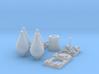 1/32 Carbonit 20kg Kit (4 off) 3d printed