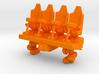Wagon Seats small 3d printed