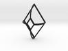 Cut-Off Diamond Curved 3d printed