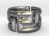 Maeander Ring 18mm 3d printed