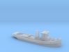 Risico steam tug in 1:350 scale 3d printed