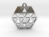 Triforce Star Of David Pendant 3d printed