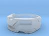 US10 Ring XXI: Tritium (Silver) 3d printed