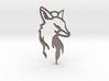 Fox Pendant 3d printed